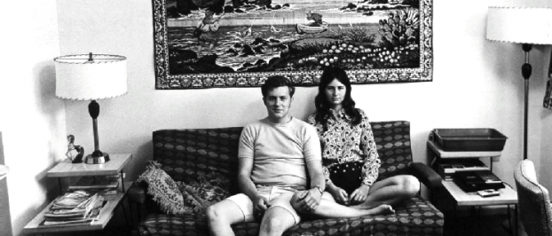 Bill Owens, We've been married two months and everything we own is in this room. gelatin silver print, 1973