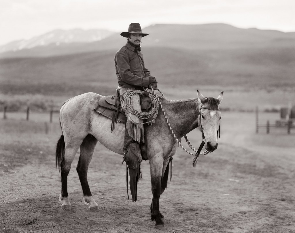 Martin Black, Stampede Ranch, Nevada, Digital print from an 8x10-inch negative, ed. 50, 1982