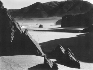 """Garrapata Beach"" by Brett Weston"