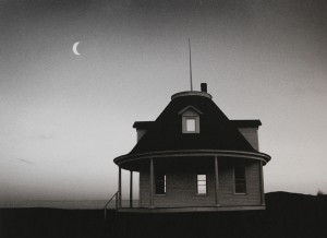 Round House and Moon by: Ron Seymour 2002
